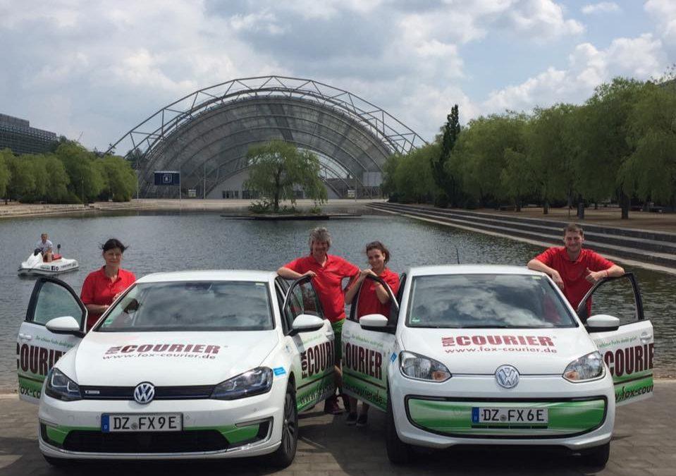Das Team der fox-COURIER GmbH Leipzig …