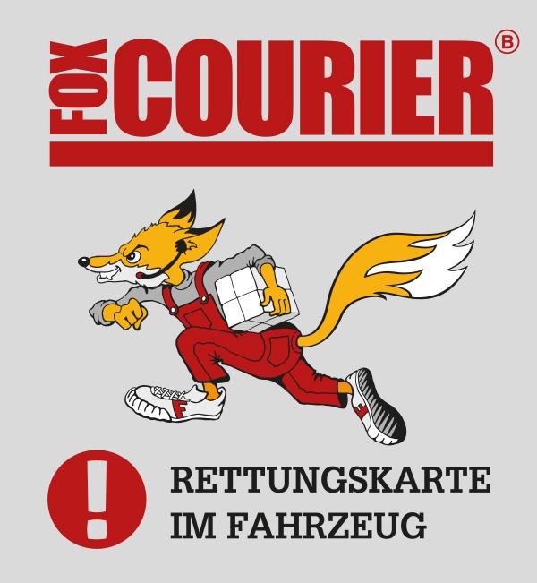 fox-Rettungskartenaufkleber